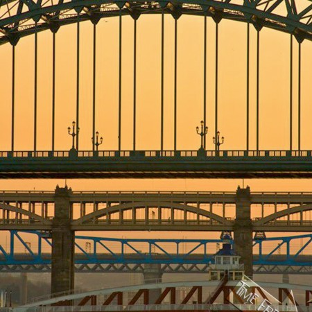 River Tyne Bridges photograph