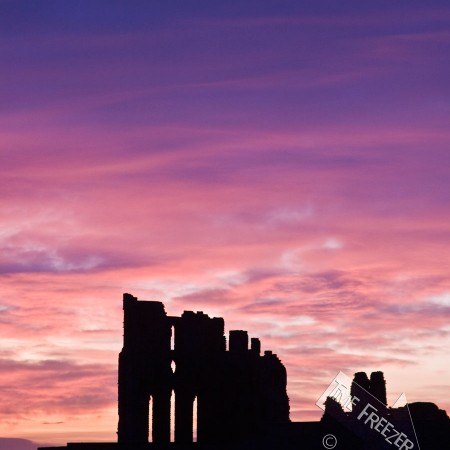 Tyneouth Priory Sunrise Photo