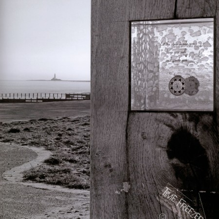 st marys lighthouse from blyth south beach photo