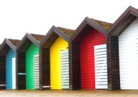 Blyth Beach Huts, South Beach, Northumberland