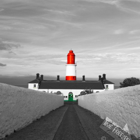 Souter Lighthouse Photograph