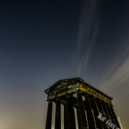 Penshaw monument at night photo