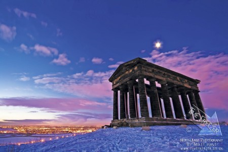 Penshaw Monument Winter Photo