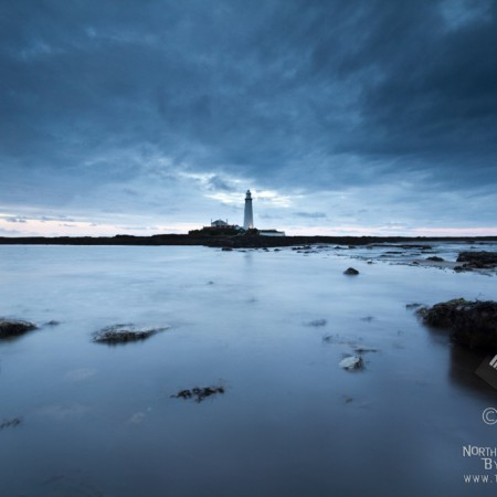 Dusk photo at St Marys Lighthouse