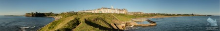 Panoramic Photo of Tynemouth Beaches